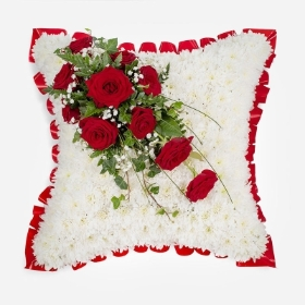 Now At Peace Massed Cushion